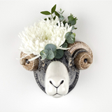 Quail Designs Swaledale Sheep Wall Vase