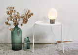 Menu JWDA Concrete Lamp. Light Grey and Brass