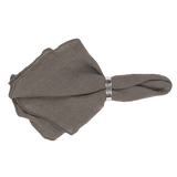 Broste Table Napkin Gracie Eco Friendly Linen - Grey