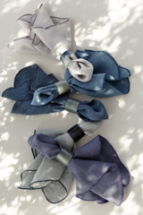 Broste Table Napkin Gracie Eco Friendly Linen - Blue