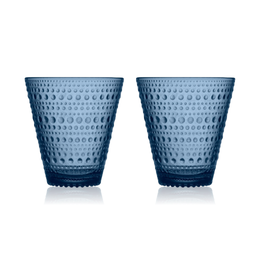 Iittala Kastehelmi Tumbler 30cl Set of 2: Light Blue