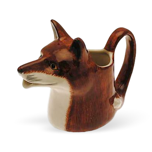 Quail Designs Fox Jug: Medium
