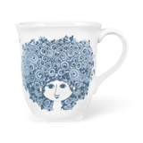 Bjørn Wiinblad Mug Rosalinde Dusty Blue