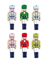 Design Ideas Set of 12 Henry The Nutcracker Hanging Ornament Set of 12