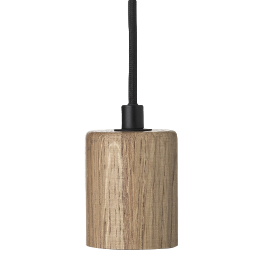 Broste Oak Ceiling Lamp Gerd