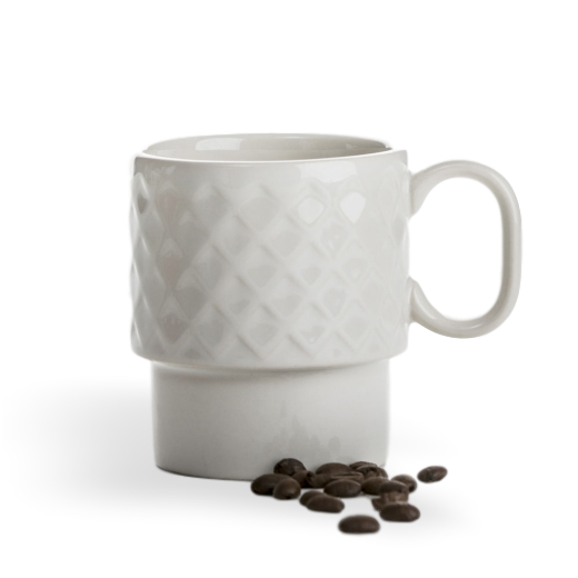 Sagaform Coffee and More Mug White