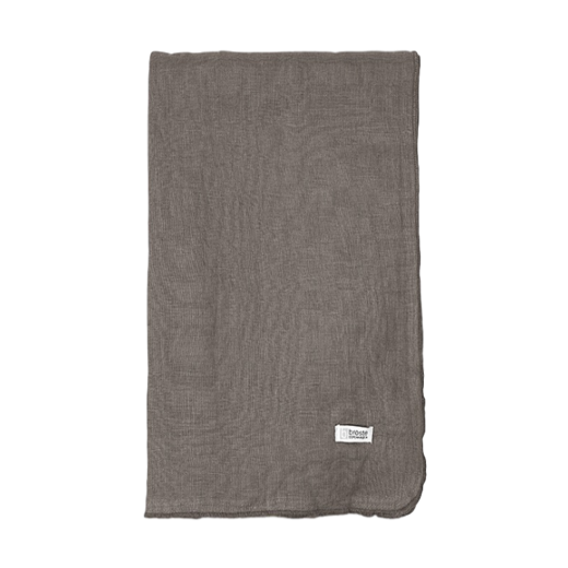 Broste Table Cloth Gracie Eco Friendly Linen Donkey Brown