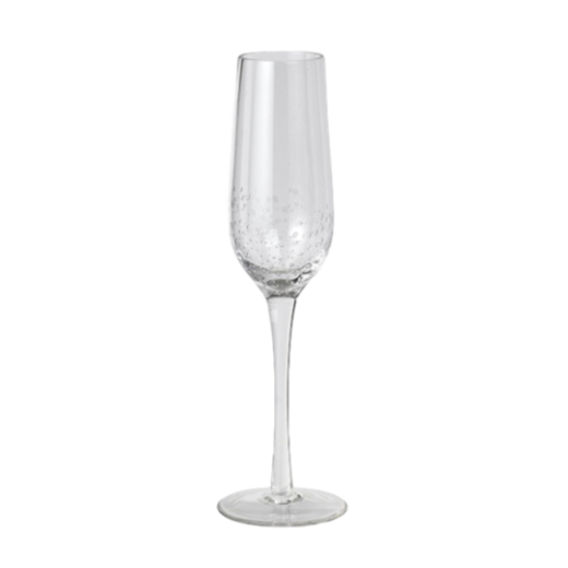 Broste Bubble Glass Champagne