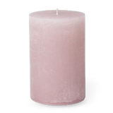 Broste Rustic Pillar Candle 7x13.5cm Pale Pink