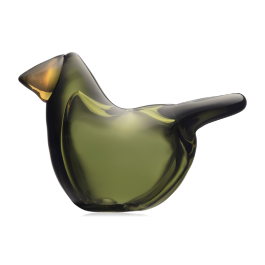 Iittala Birds By Toikka Flycatcher Moss Green & Copper 2021