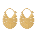 Pernille Corydon Flare Earrings Gold