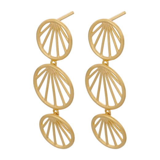 Pernille Corydon Sunray Earrings Gold