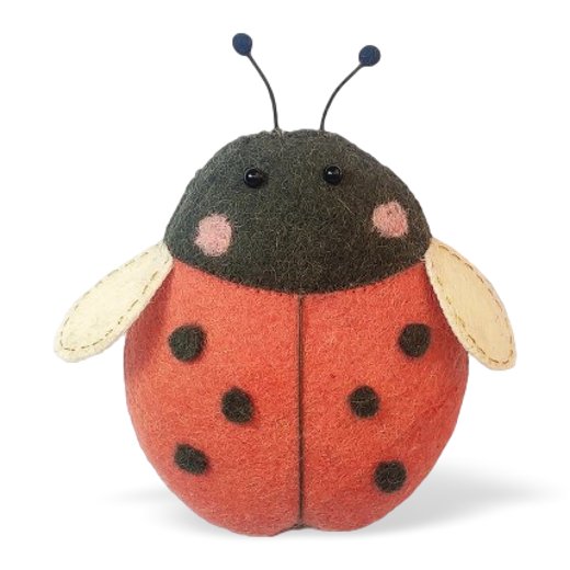 Fiona Walker Mini Felt Ladybird Decoration