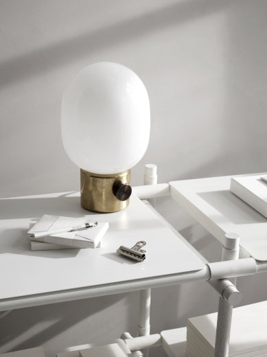 Menu JWDA Metallic Lamp, Mirror Polished Brass