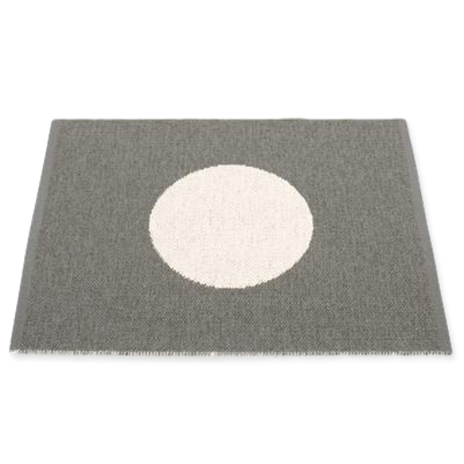 Pappelina Vera Small One Rug Charcoal