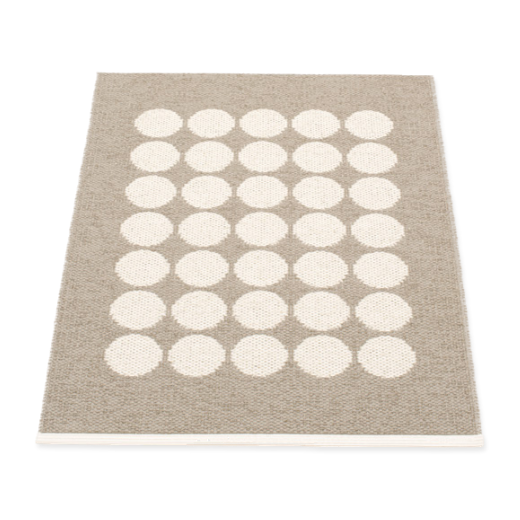 Pappelina Fia Rug Mud and Vanilla 70 x 100cm