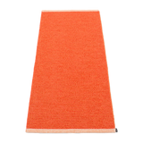 Pappelina Mono Rug Pale Orange & Coral Red 60 x 150