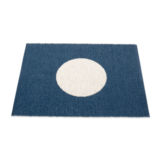 Pappelina Vera Small One Rug Ocean Blue 70 x 90cm