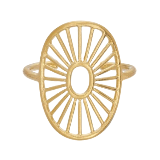 Pernille Corydon Daylight Adjustable Ring Gold
