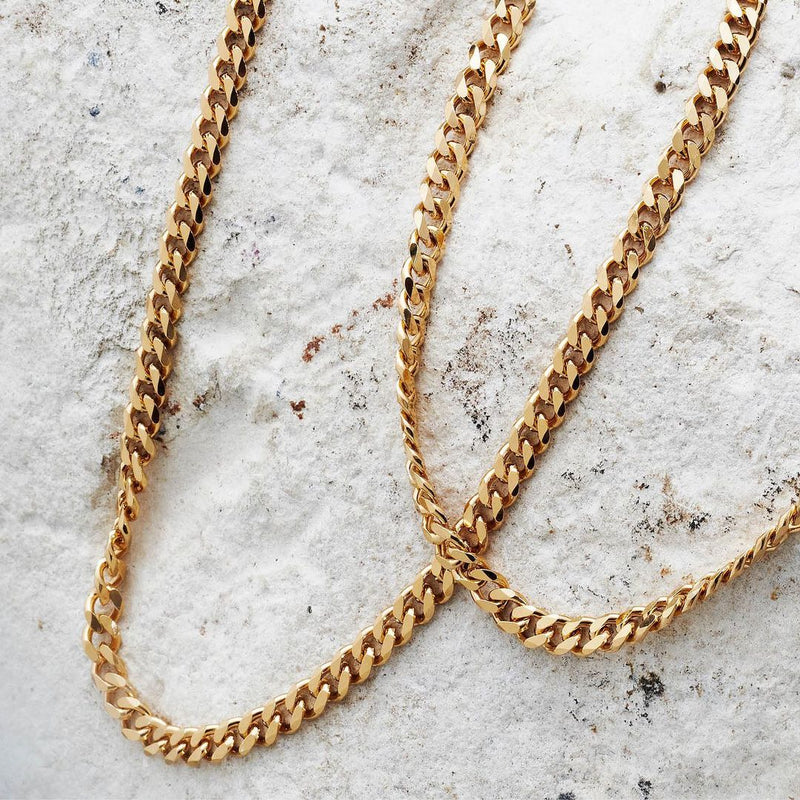 Pernille Corydon Solid Necklace Long Gold Plated