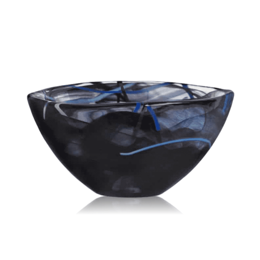 Kosta Boda Contrast Bowl Small Black
