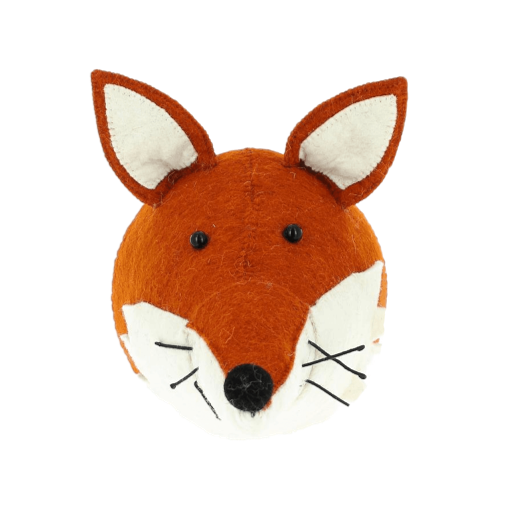 Fiona Walker Mini Felt Fox Head