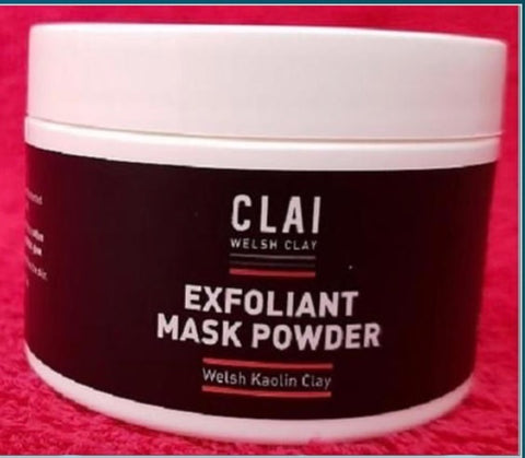 Welsh Clay Exfoliant mask powder 100gm