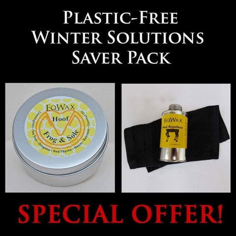 Winter Solutions Saver Pack - Hoof Frog and Sole plus Mud Repellent Oil