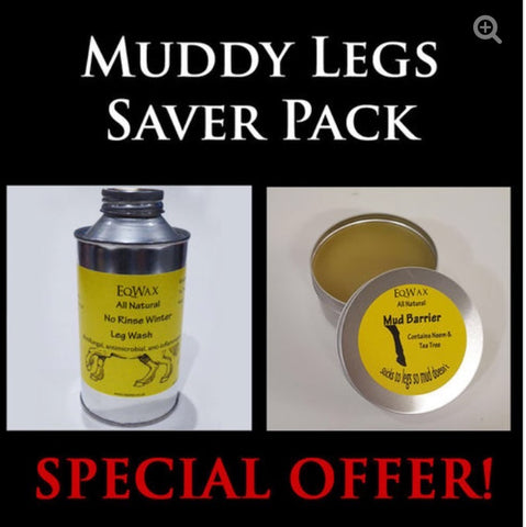 Muddy Legs Saver Pack mud