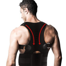 Load image into Gallery viewer, Adjustable Back Posture Corrector Magnetic Therapy Posture Corrector Brace Shoulder Back  Brace Support Belt
