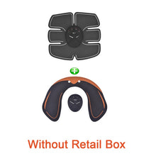 Load image into Gallery viewer, Body Slimming Massager EMS Muscle Training Stimulator Device Abdominal Wireless EMS Gym Professinal Home Fitness Beauty Gear