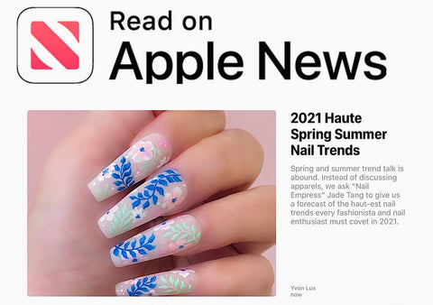 spring summer nail trend 2021 by apple news
