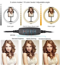 Load image into Gallery viewer, Professional LED Ring Light Kit