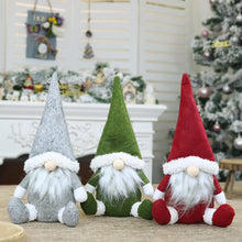Load image into Gallery viewer, Faceless Santa Doll Window Decoration Christmas Decorations Gift