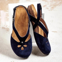 Load image into Gallery viewer, 🔥SUMMER HOT🔥50% OFF TODAY - Women Comfy Magic Tape Flat Sandals