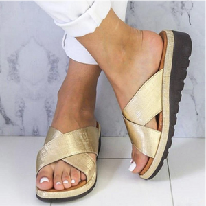 Fantastic Orthopedic Sandals With a Special Health Sole