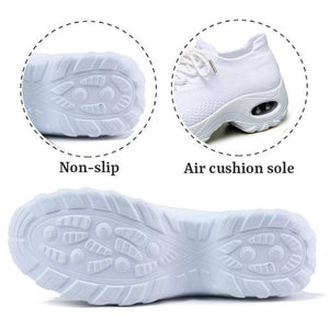 WOW!!!🔥50% OFF🔥Women's Flying Woven Non-slip Breathable Comfortable Running Shoes
