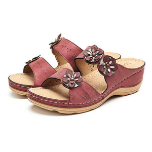 🔥HOT SALES!Fashion Fancy Flower Sandals