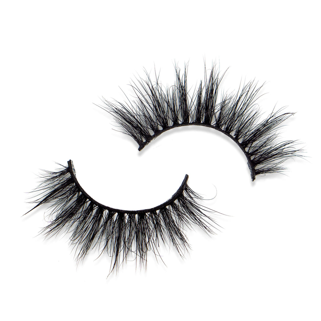Lightweight Strip Lashes - Calla lily - ByJoyadenuga - ByJoyadenuga.com - Eyelashes
