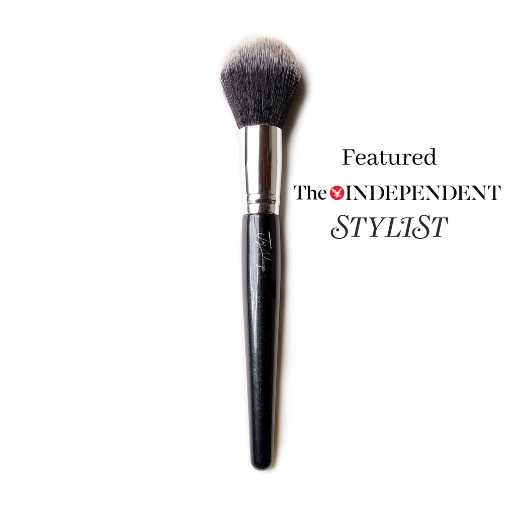 Large Powder Brush 001 - Big Mama - ByJoyadenuga - ByJoyadenuga.com - Eyelashes