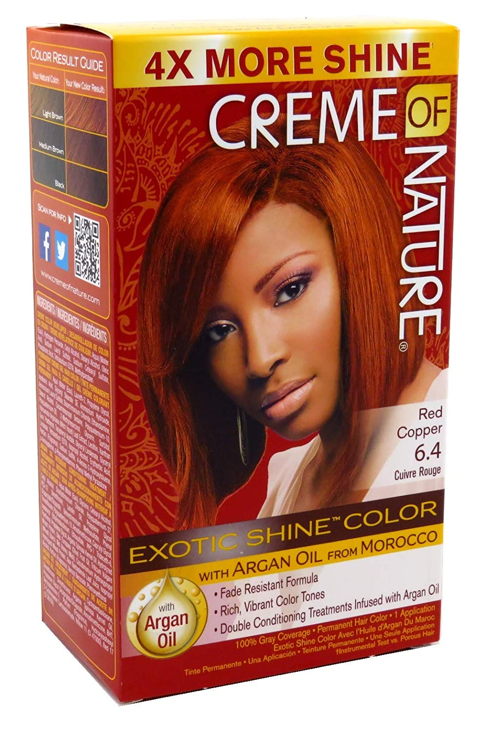 Creme Of Nature #RedCopper