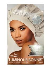 Annie Luminous Bonnet XL #WhitePearl