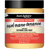 Aunt Jackie's Curl Mane-Tenance Anti-poof Defining Curl Whip