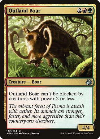 Outland Boar [Aether Revolt] | The Dork Den