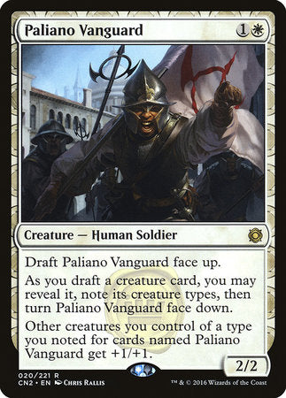 Paliano Vanguard [Conspiracy: Take the Crown] | The Dork Den