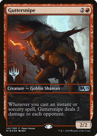 Guttersnipe [Core Set 2019 Promos] | The Dork Den
