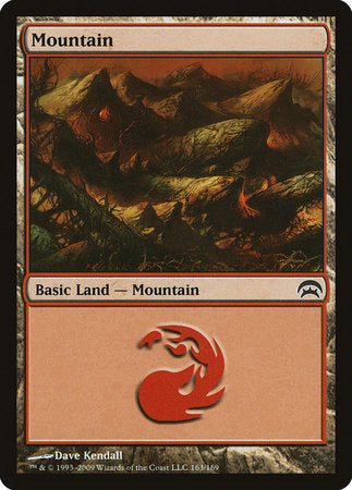 Mountain (163) [Planechase] | The Dork Den