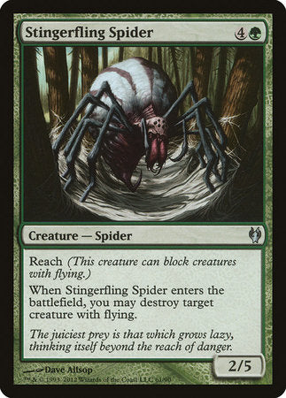Stingerfling Spider [Duel Decks: Izzet vs. Golgari] | The Dork Den
