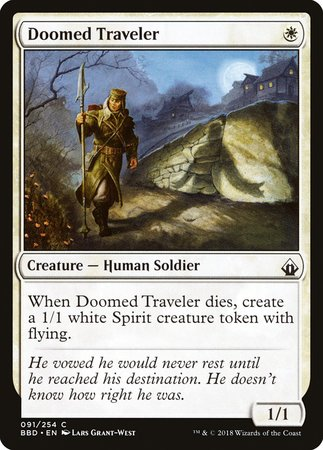 Doomed Traveler [Battlebond] | The Dork Den