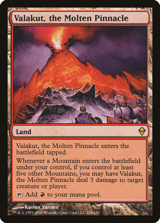 Valakut, the Molten Pinnacle [Zendikar] | The Dork Den